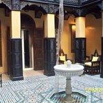 Uno de los cinco ryads del hotel