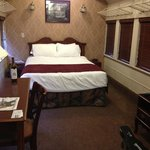 very spacious rooms in the train cars