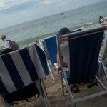 The ocean feet away!