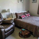 Studio room (queen bed plus a single bed not in photo)