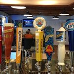 We have a great selection of draft beer