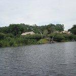 Tariri Amazon Lodge - Vista do Lodge na chegada