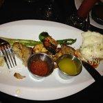 Seafood Trio! DELICIOUS