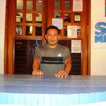 Your Man Alex One of the GREAT Front Desk