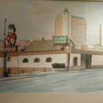 Painting of La Casa