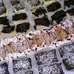 gourmet dessert tray