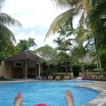 Poolside at Saren Indah