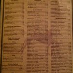 Whiskey list!