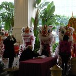 Lion Dances at Wynn during CNY