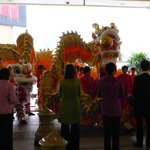 Dragon and Lion Dances at Wynn during CNY