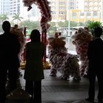 Lion Dance performance at Wynn