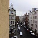 Nice area, street view from my 4th floor window