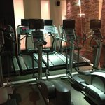 Cross trainers and treadmills at Elixr Gym