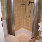 kleine Dusche