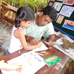 Art classes going on for engaging kids