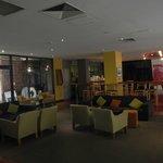 Bridge Rd entrance and foyer/indoor bar/lounge area