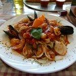Zuppa Del Pescatore (Seafood pasta)