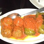 Meatballs, Stuffed wine leaves
