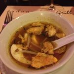Soto ayam (chicken soup)