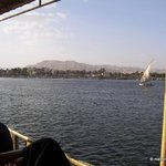 View from Luxor Public Ferry