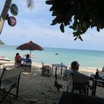 Vue plage restaurant