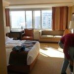 7th floor room from front door - #714