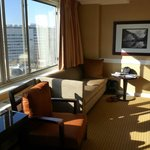 sitting area room 714