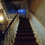 Hotel, scala principale dell'ingresso