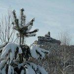 Le Rocher de Dabo en Hiver