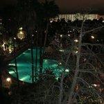 vue de la chambre de nuit