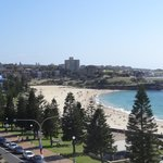 View from room over Coogee Beach