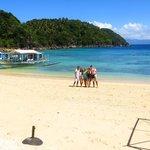Tugawe Cove Resorts Private Beach
