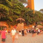 Sunset festivities at Las Brisas