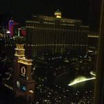 Water show at Bellagio viewed from my room