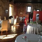 photo of restaurant in the castle