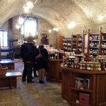 The wine shop in the castle