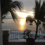 sublime lever de soleil - photo prise de ma chambre sans mêm