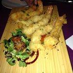 langostinos en tempura.. que ricos!!!