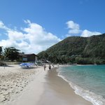 Rodney Bay beach