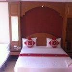 très belle chambre et spacieuse