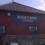 Front view of Bosun's Diner