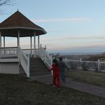 gazebo at side of hill
