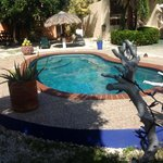 Pool View & Garden