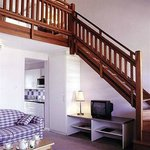 The loft rooms are great apartments