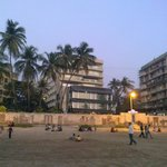 The hotel from Juhu beach