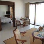Room 202, living room to bedroom