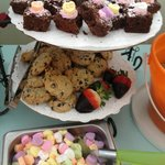 Valentines Treats at the Topping Bar