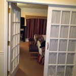 french doors in room