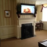 Our living area in King Suite