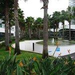 área exterior hotel
